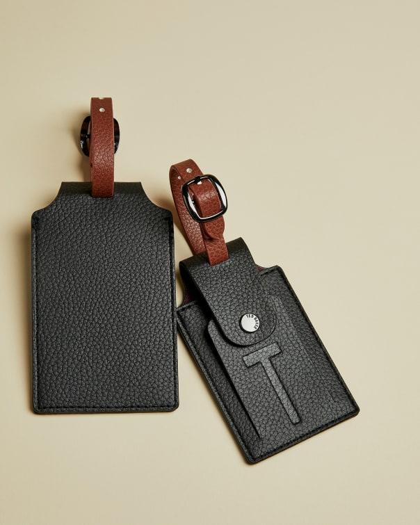 테드 베이커 러기지 태그 세트 Ted Baker Luggage tag set,black