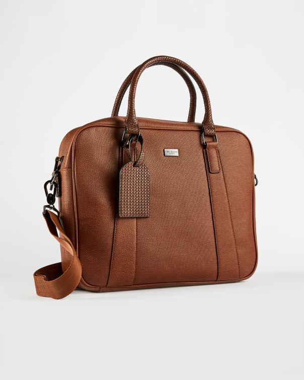 테드 베이커 서류가방 Ted Baker Textured document bag,tan