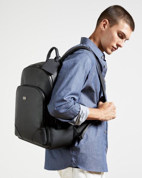 테드 베이커 백팩 Ted Baker Textured rucksack,black