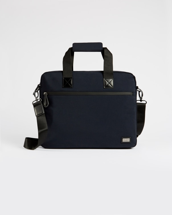 테드 베이커 서류가방 Ted Baker Nylon document bag,navy