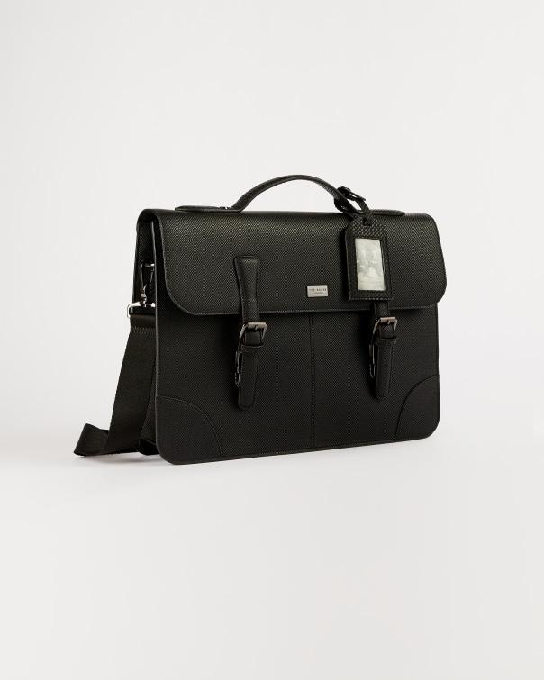테드 베이커 사첼백 Ted Baker Textured PU satchel,black