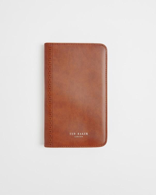 테드 베이커 트레블 서류가방 팬 Ted Baker Travel document holder and pen,tan