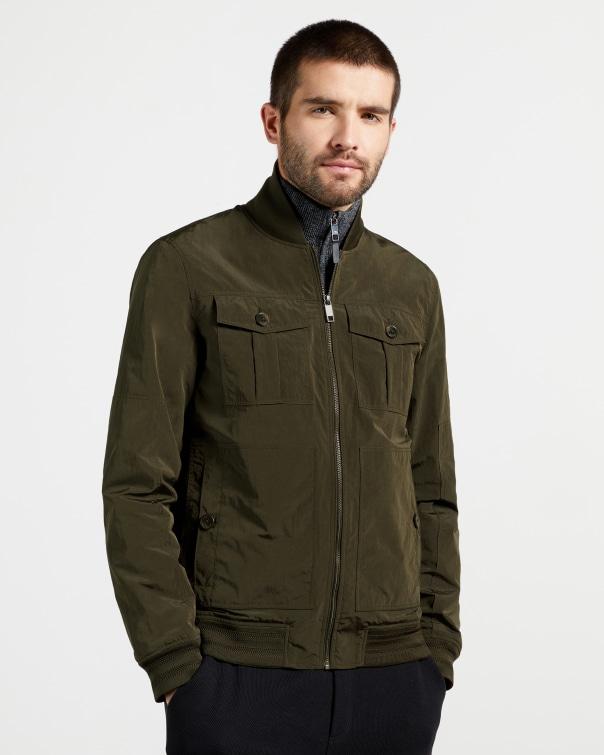 테드 베이커 유틸리티 봄버 자켓 Ted Baker Utility bomber jacket,olive