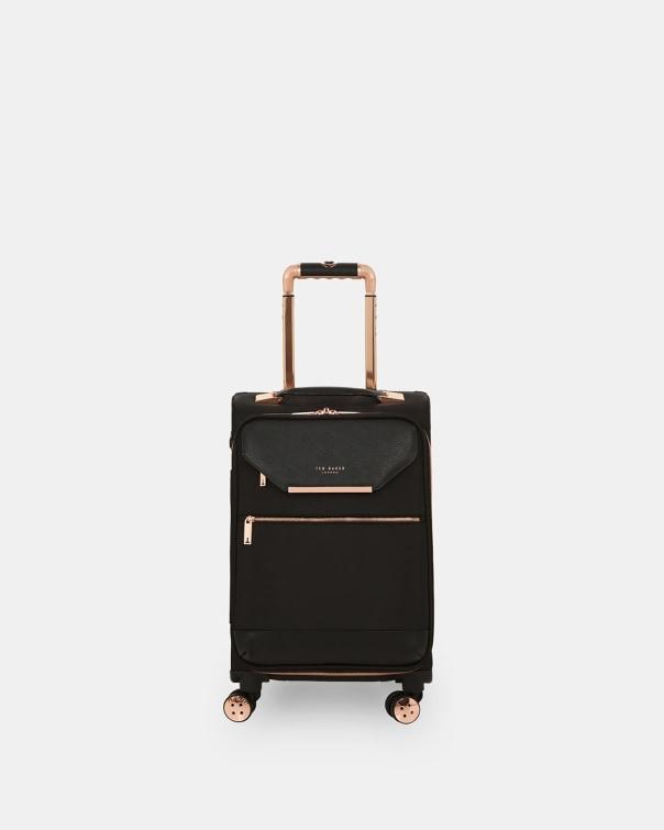테드 베이커 Ted Baker Metallic trim small suitcase,black