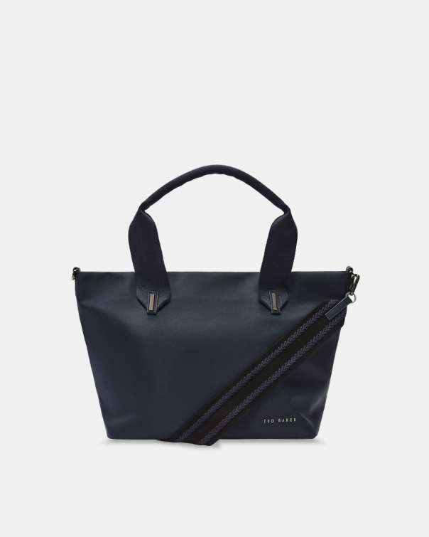 테드 베이커 Ted Baker Small nylon tote,dark blue
