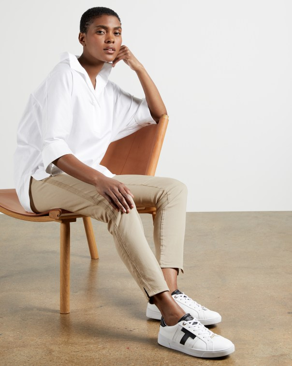 테드 베이커 Ted Baker Combat skinny jeans,cream