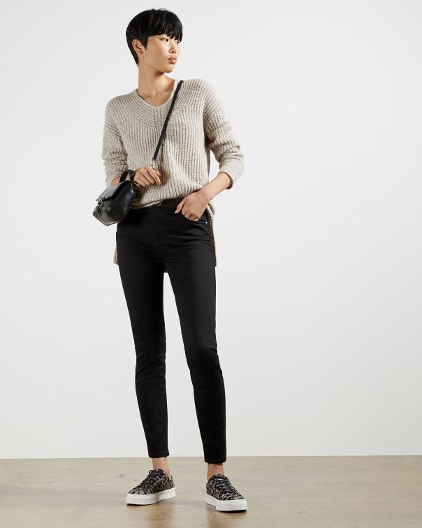 테드 베이커 Ted Baker Black skinny jeans,jet black