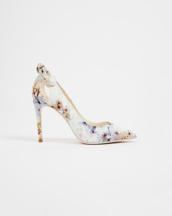 테드 베이커 Ted Baker Vanilla High Heel Court shoe,white