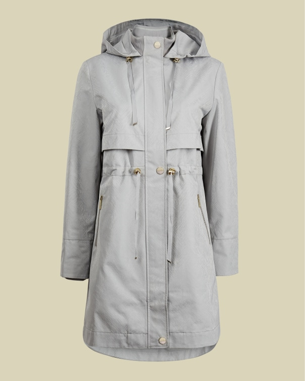 테드 베이커 Ted Baker Drawstring mac coat,mint