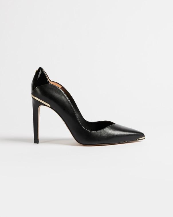 테드 베이커 Ted Baker Leather court shoes,black