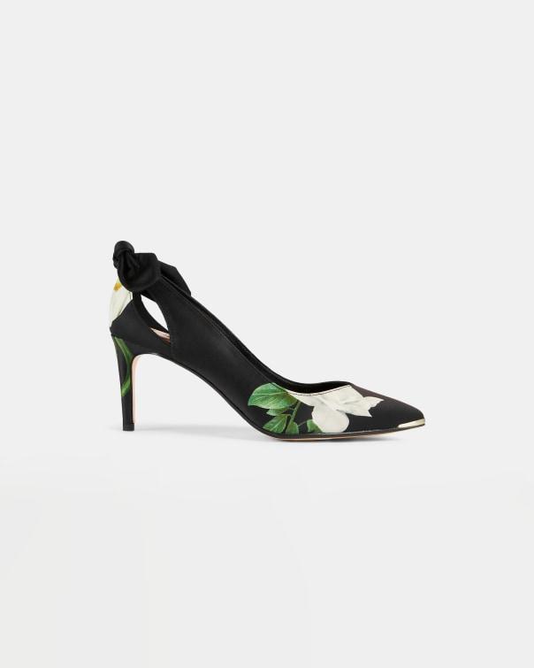테드 베이커 Ted Baker Elderflower court shoe,black