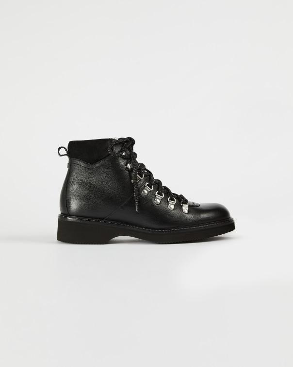 테드 베이커 Ted Baker Leather hiker boots,black