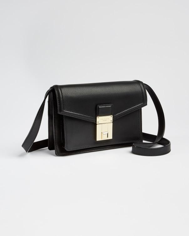 테드 베이커 숄더백 Ted Baker Satchel style shoulder bag,black