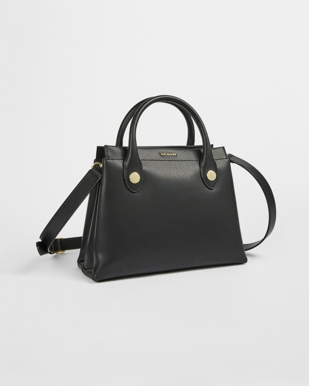 테드 베이커 Ted Baker Zip Top Mini Work Tote,black