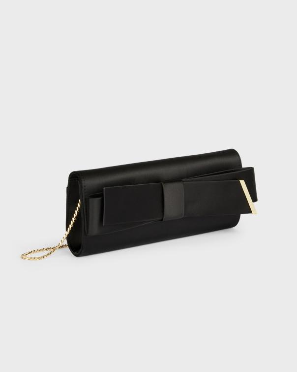 테드 베이커 Ted Baker Bow Evening Bag,black
