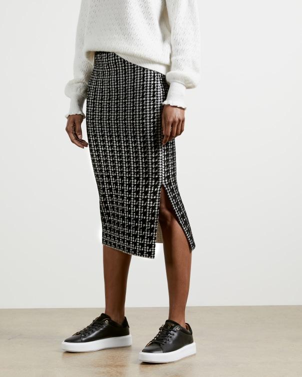 테드 베이커 Ted Baker Atlas Jacquard Skirt,black