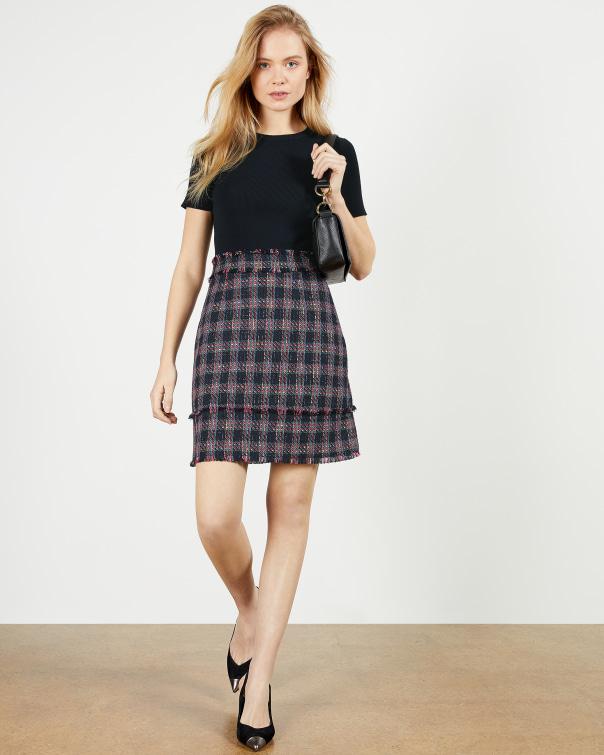 테드 베이커 원피스 Ted Baker Mini mockable Dress,navy