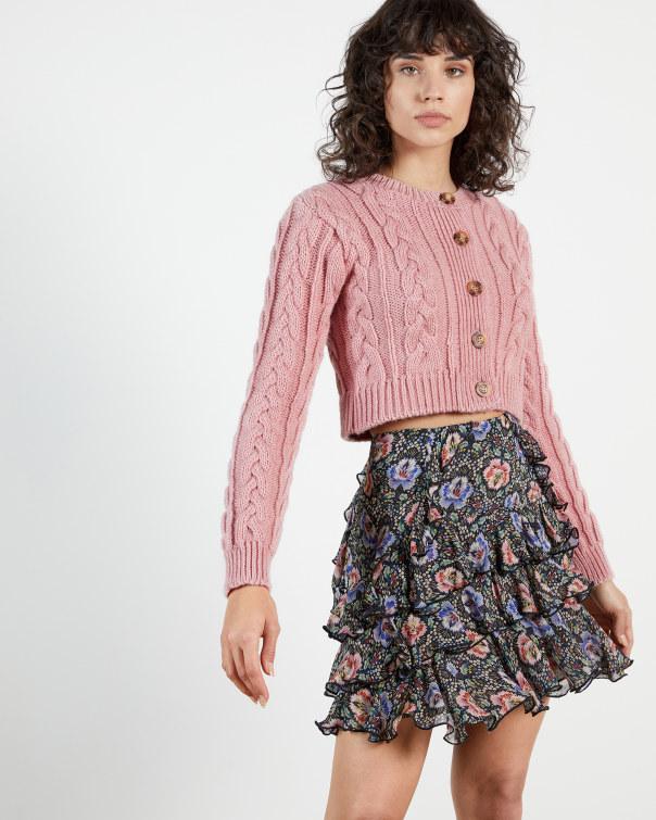 테드 베이커 Ted Baker Knitted Cardi,pink
